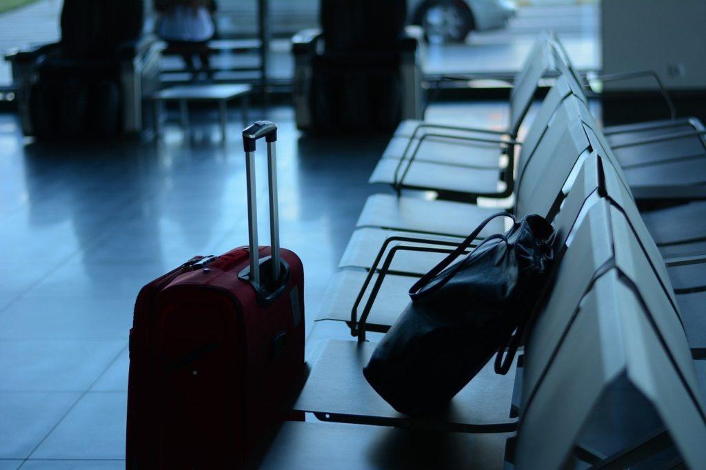 airport, travel, traveler